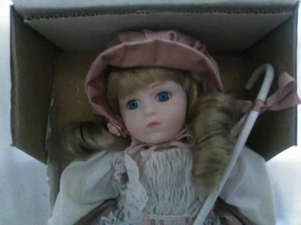 Collectors porcelain doll
