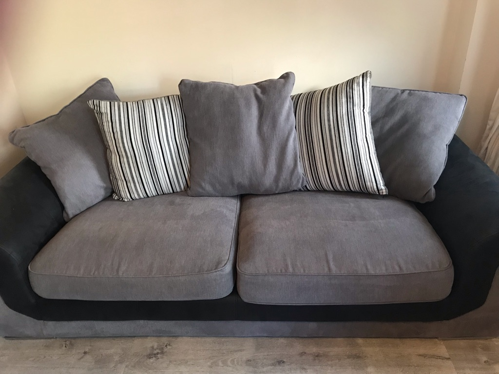 Ex display modern 3 seater sofa
