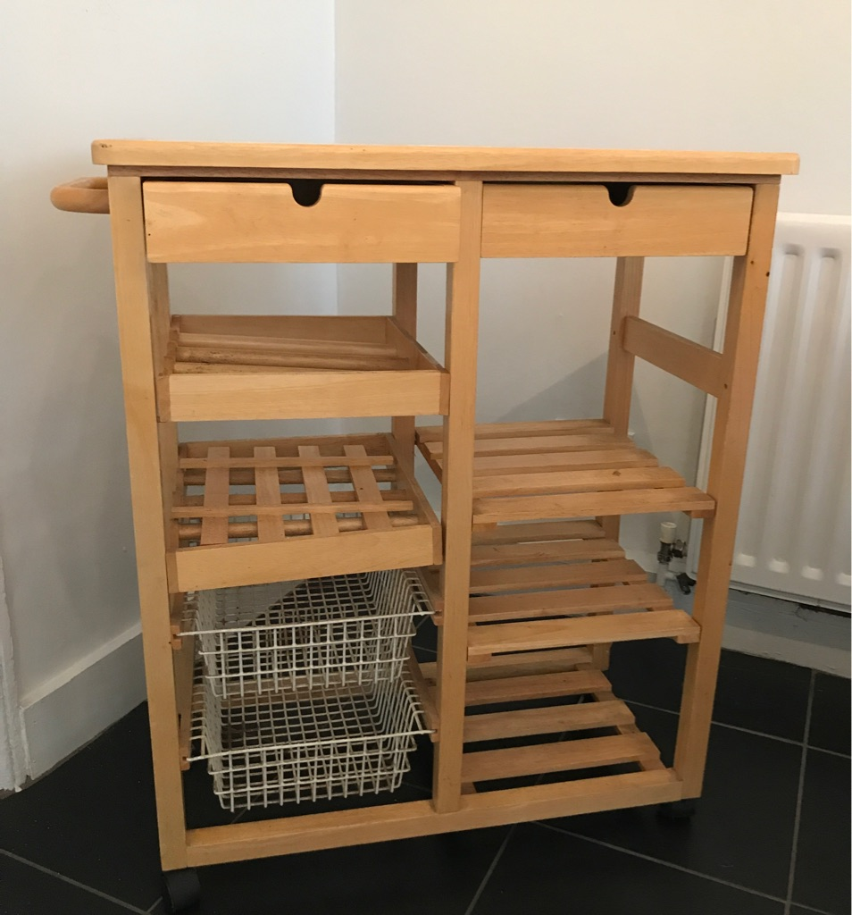 Kitchen trolley/drawers/shelves