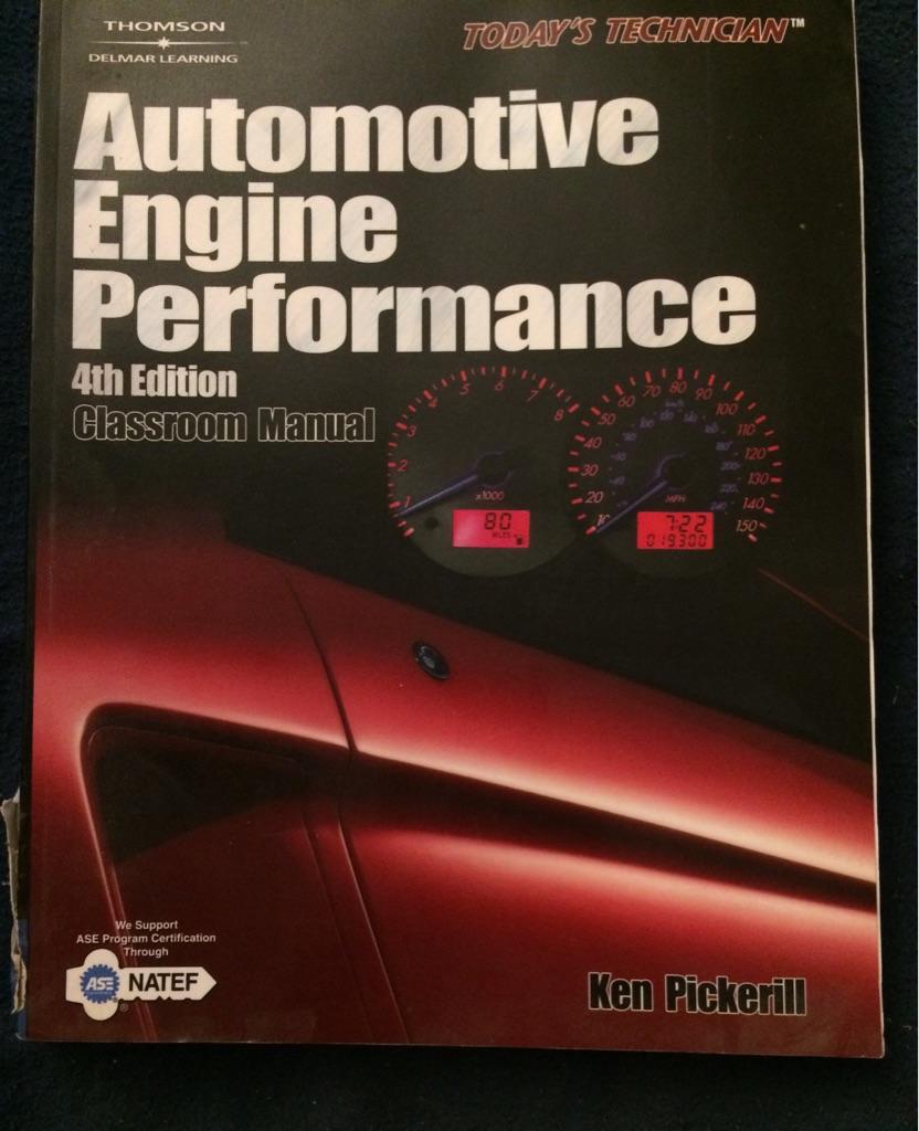 Automotive Engine Performance 4th Edition