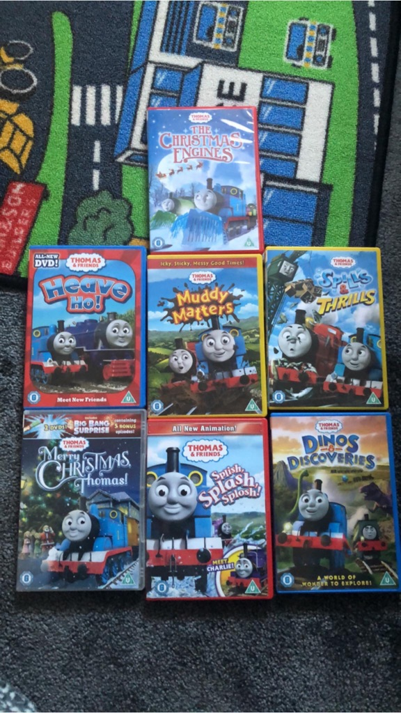 Thomas dvd and motion control Thomas
