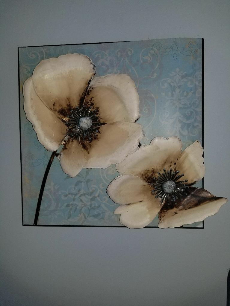 Flower 3D Decorative Wall Art