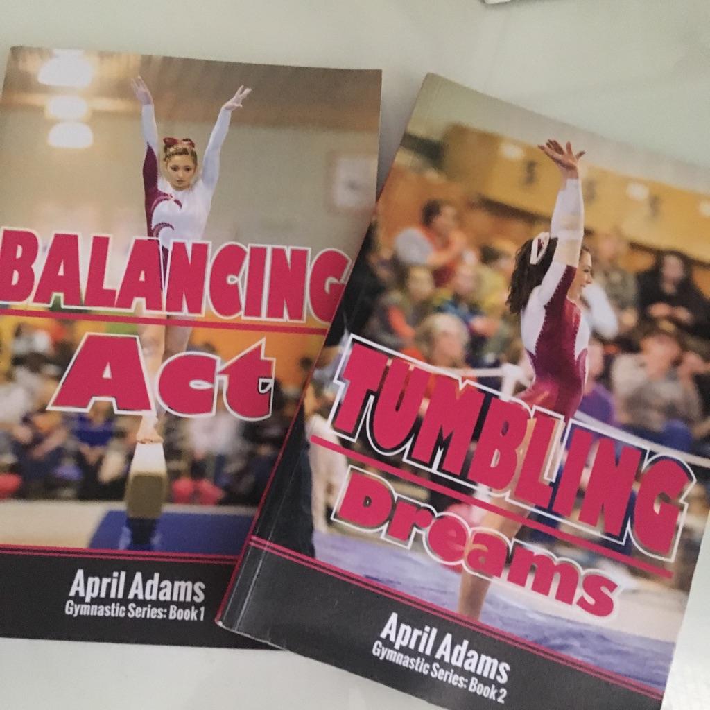 2 April Adams books