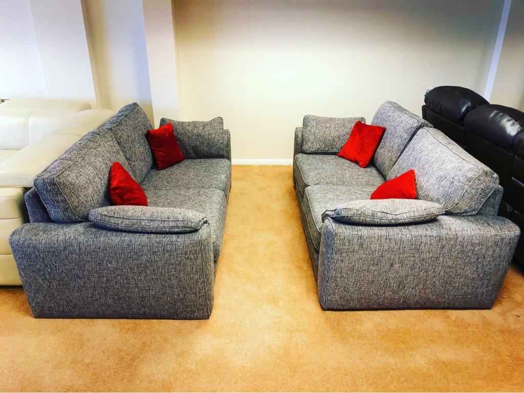 Sofology Chiltern mix brand new 2 seat sofas