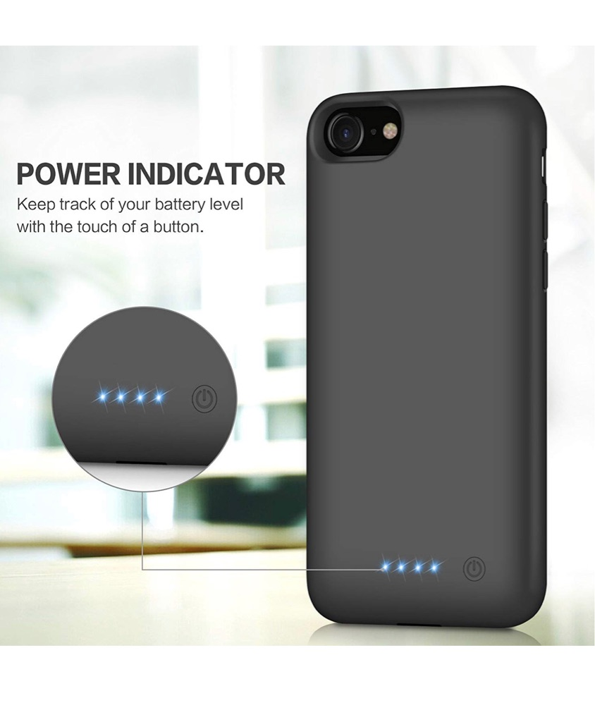 Battery case iphone 6s,7s,8s plus