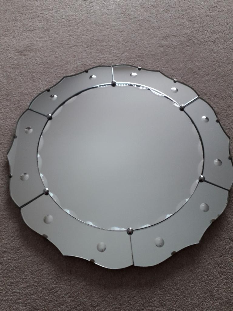 Original Vintage Art Deco Mirror