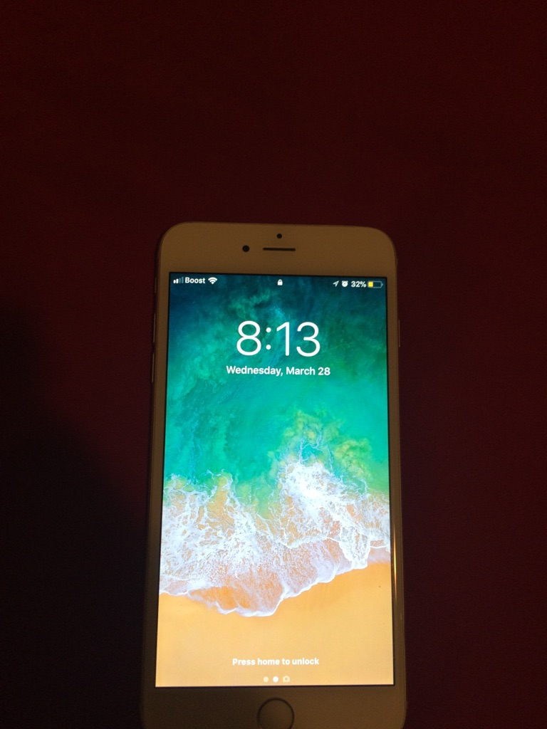 Iphone 6 Plus Silver 16 GB