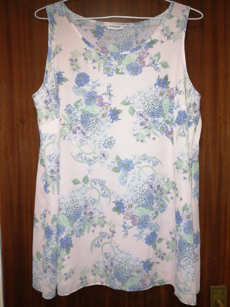 Light Blue Ladies Top