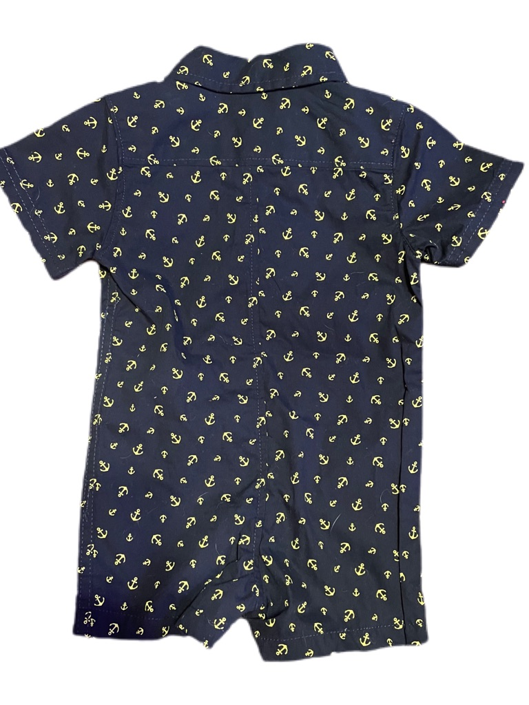Free Planet Anchor Romper Size:12M