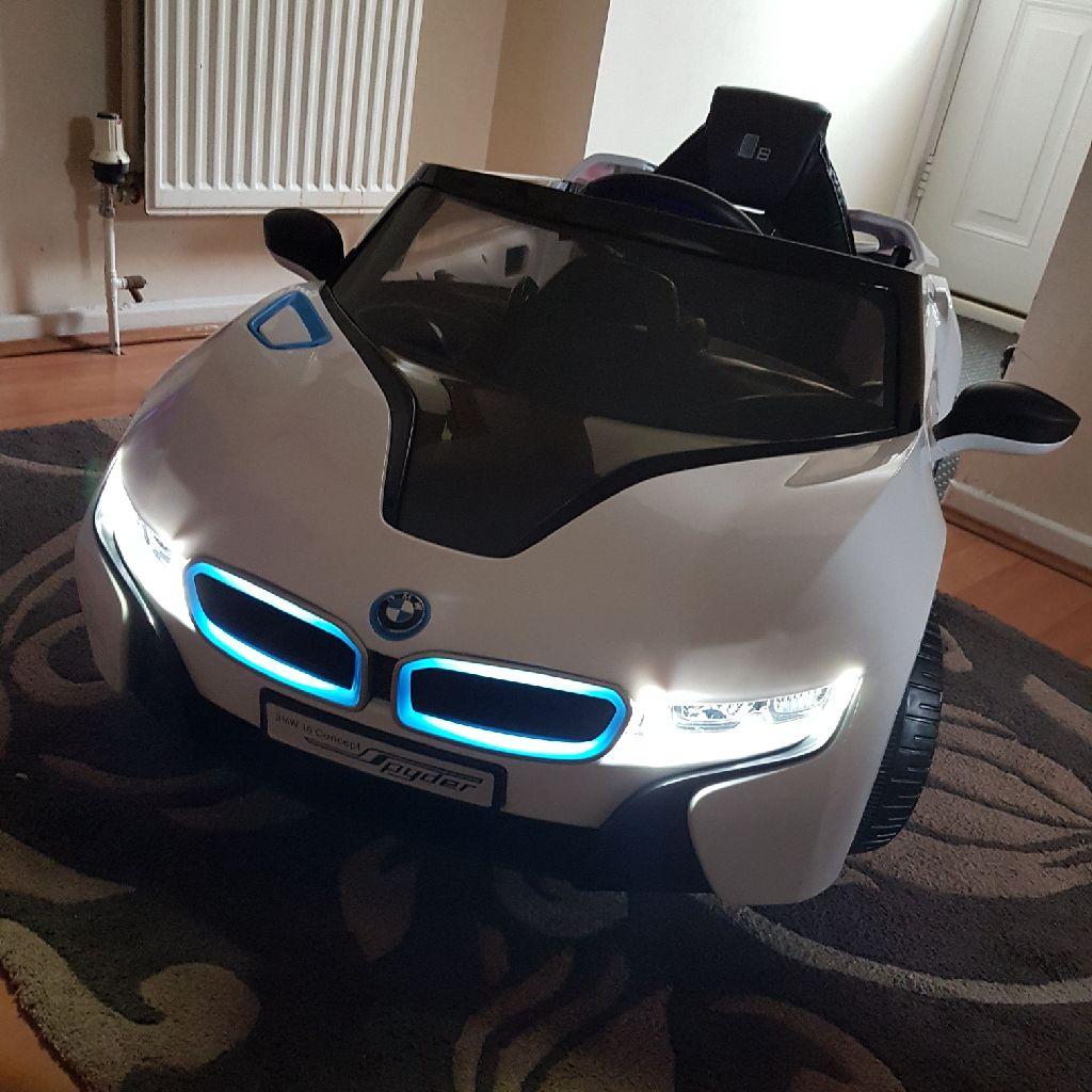Bmw kids electric car