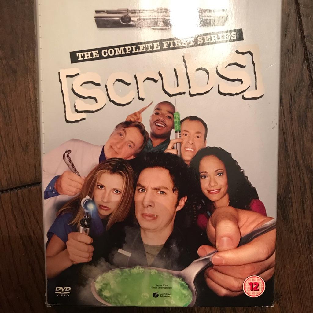 Series 1 Scrubs on DVD
