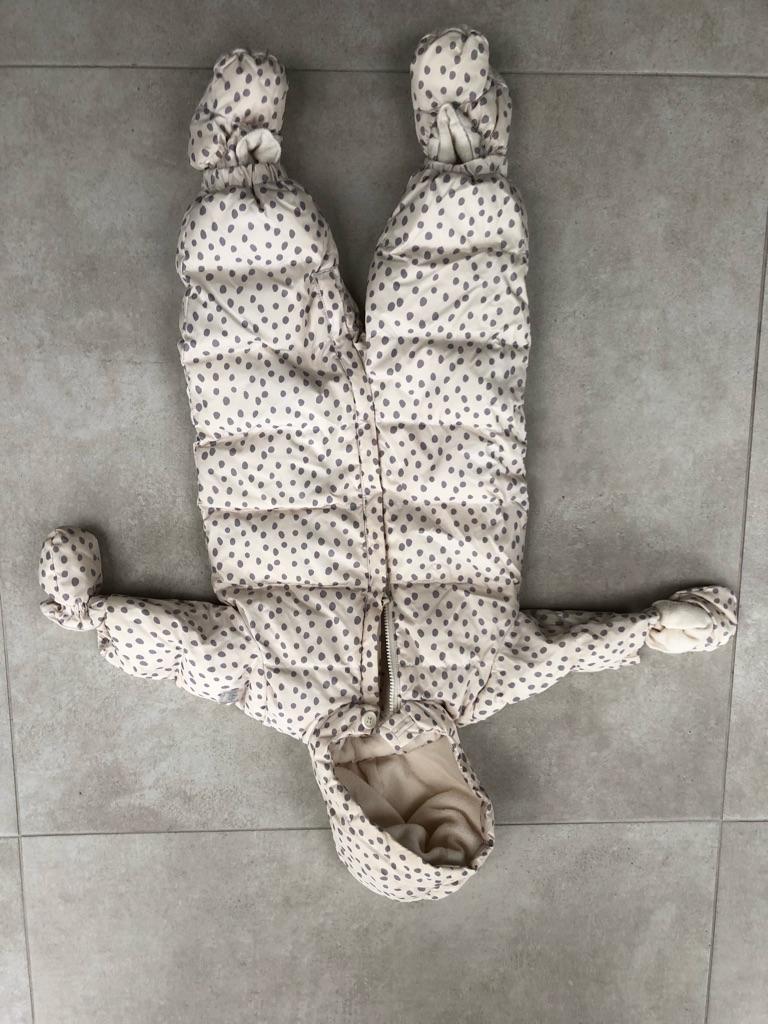 Gap girl snow suit, 6-12 months