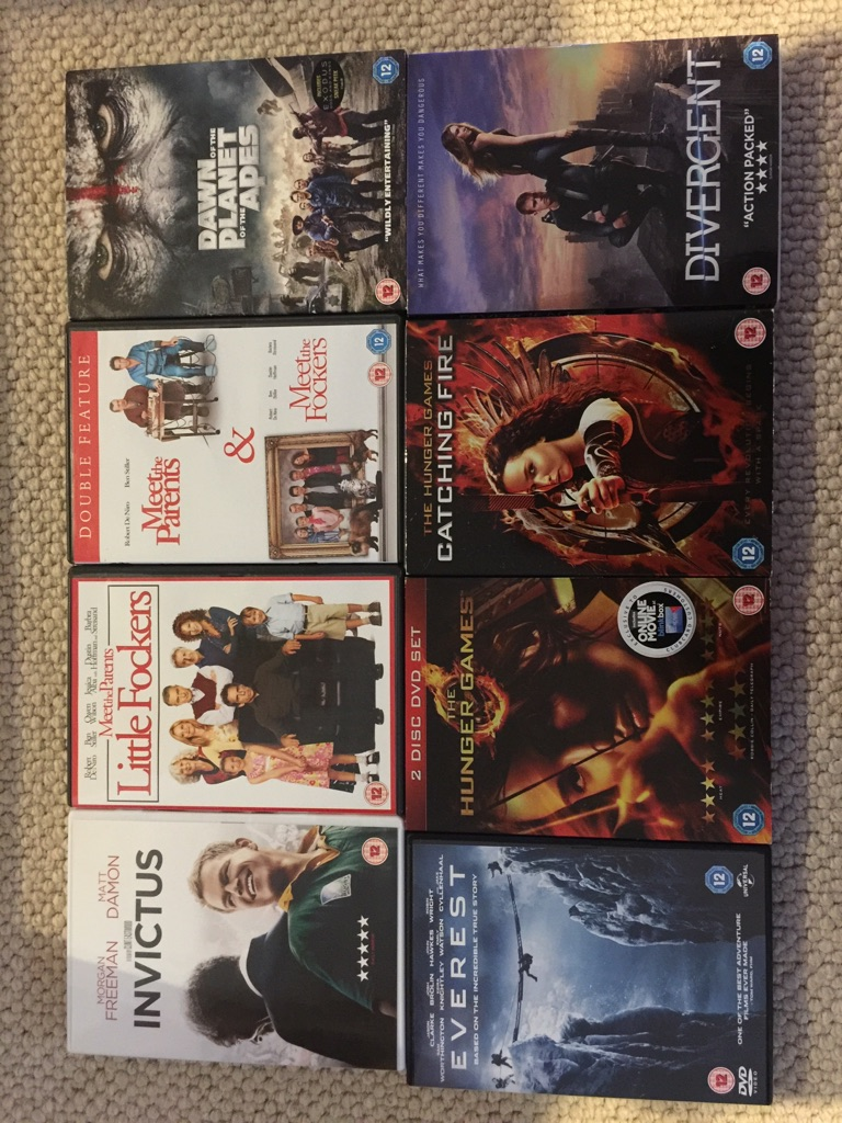 DVD Bundle (24 films, all certificate 12)