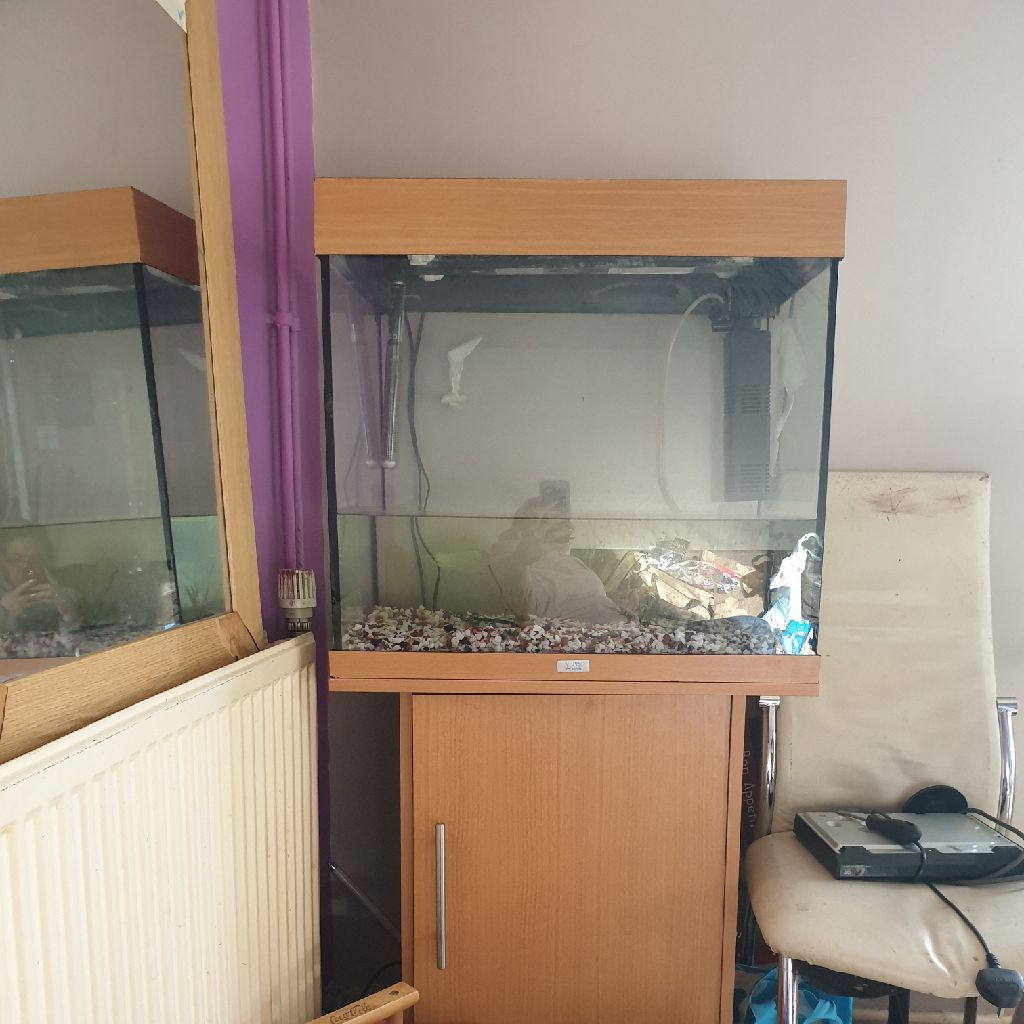 Juwel fish tank and stand