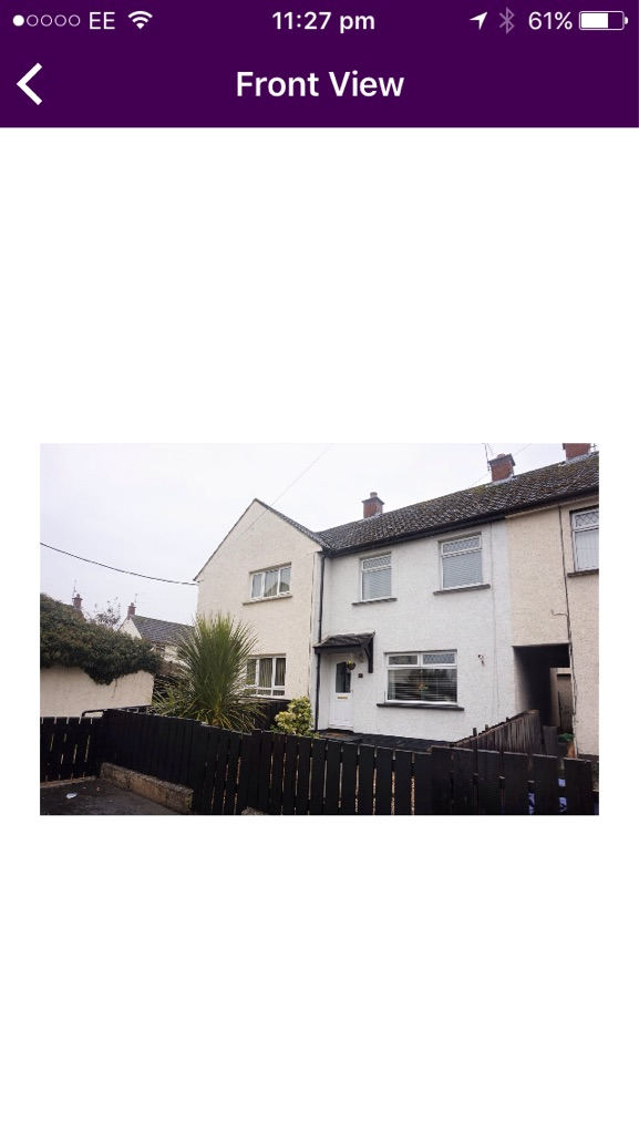 2 Bed house for sale in Crumlin.