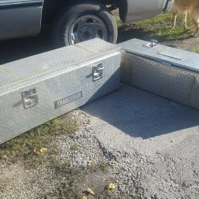 Tool box for a truck