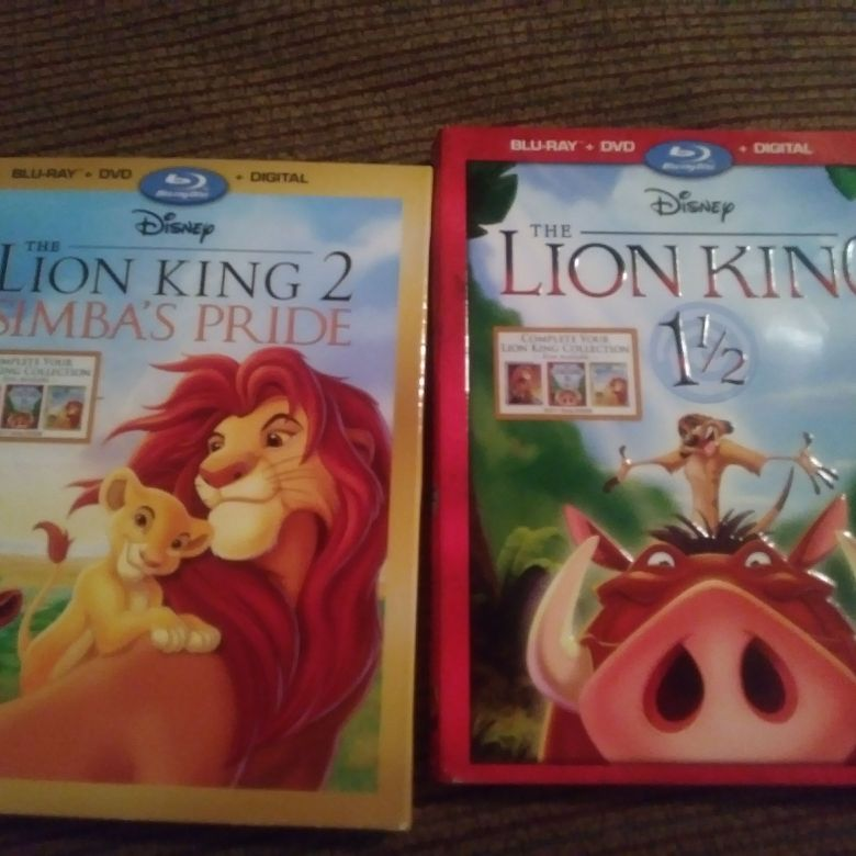 Lion king 2 and lion king 1/2
