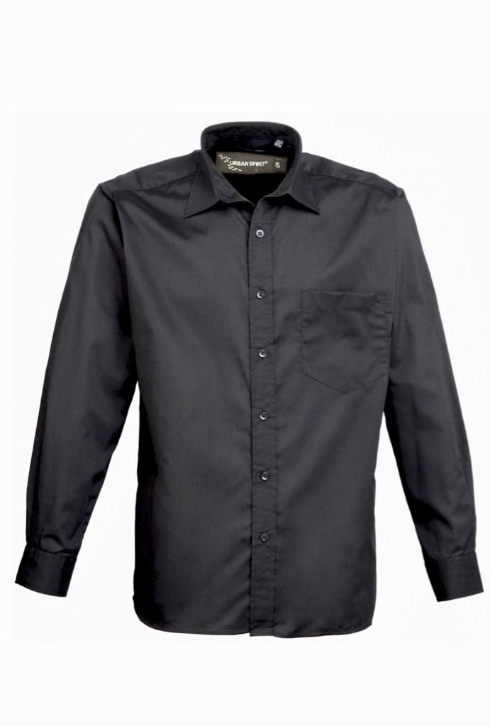 Urban Spirit Black Fit Shirt