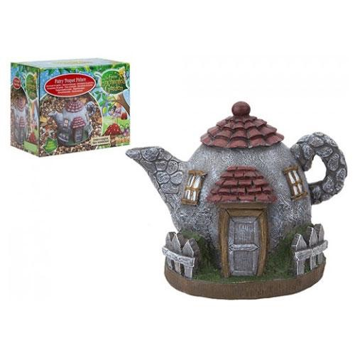 Secret fairy garden teapot palace