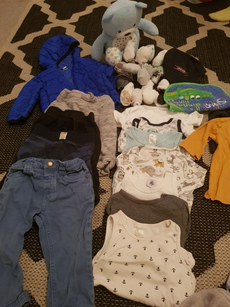 Boys winter bundle 6-12 Months (50 Items)