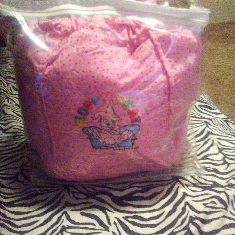 Pink floppy seat