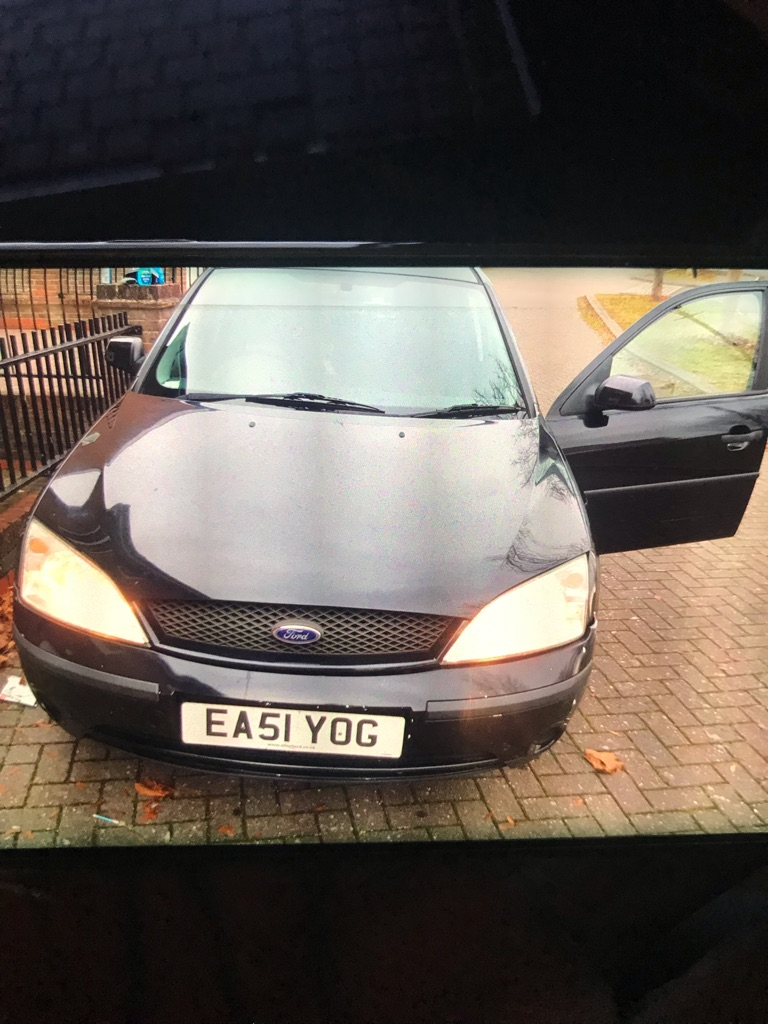Ford Mondeo 2001 1.8 Petrol in Black