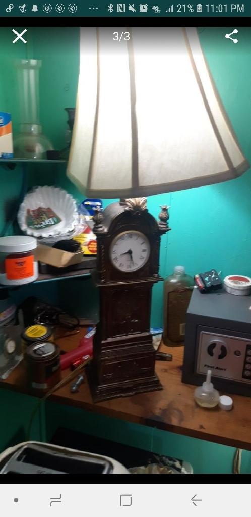 Clock lamp