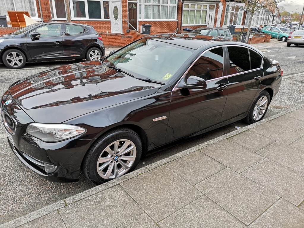 BMW 520d EFFICIENT DYNAMICS 2012