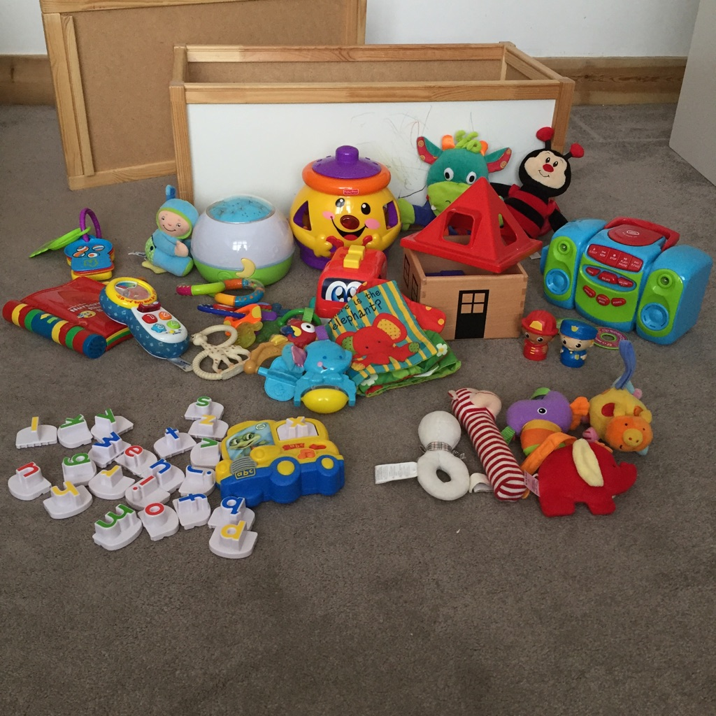 Bundle of Toys for 0-24 months