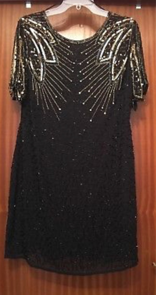 Sequin dress 1920s size 18
