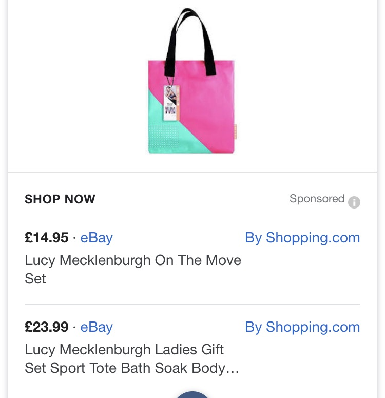 Lucy Mecklenburgh On The Move Gift Set