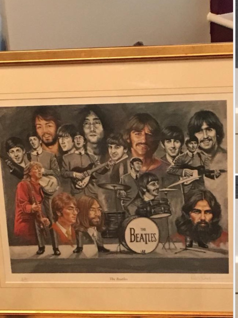 Limited Edition Beatles print