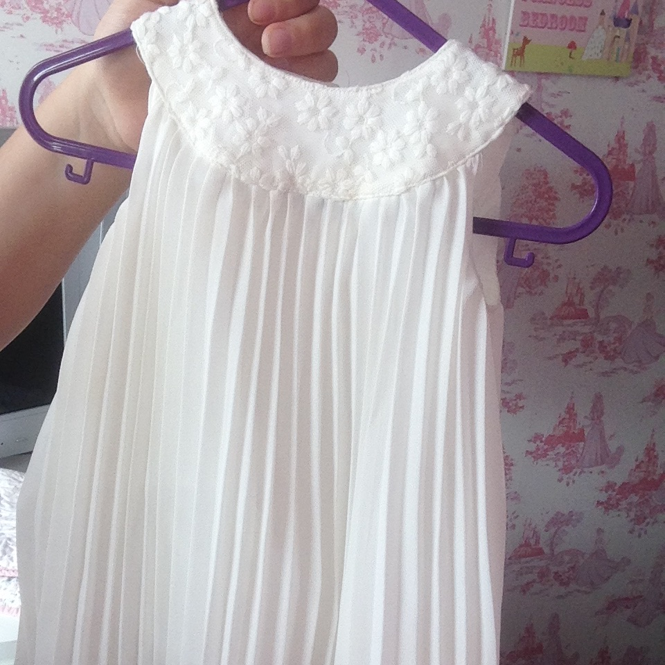 Mamas and papas pleated dress