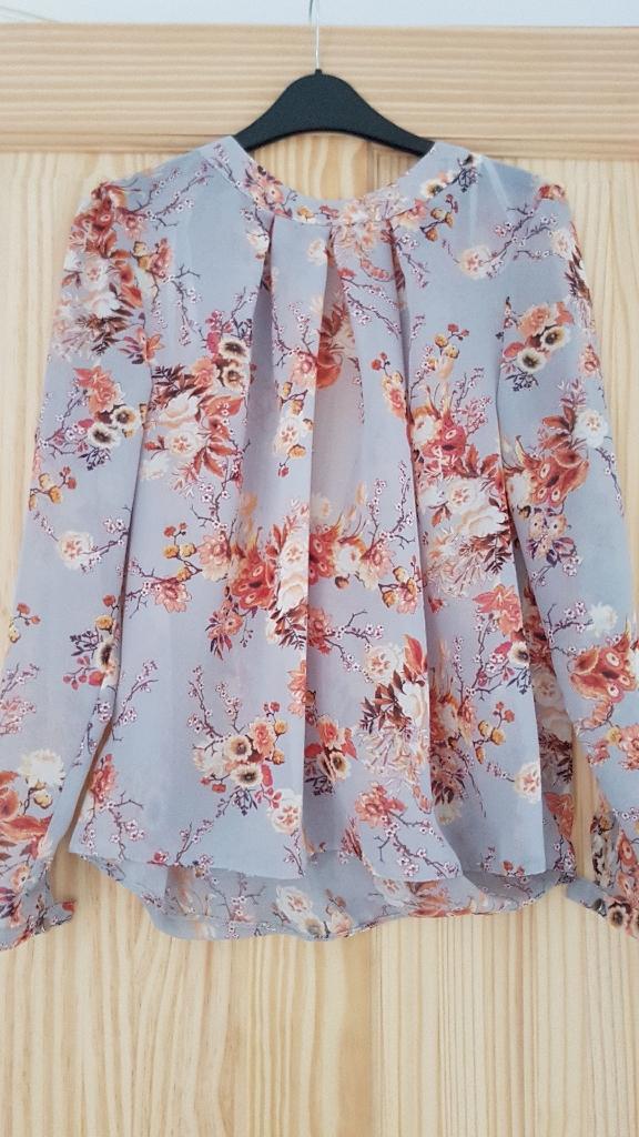 Floral Blouse Size 12