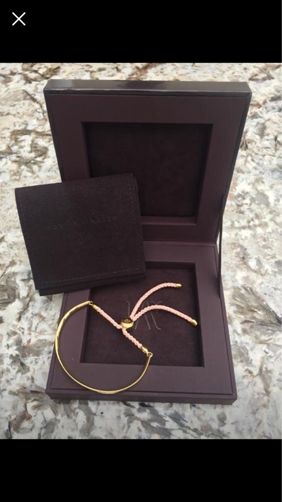 Monica Vinader Gold Bracelet