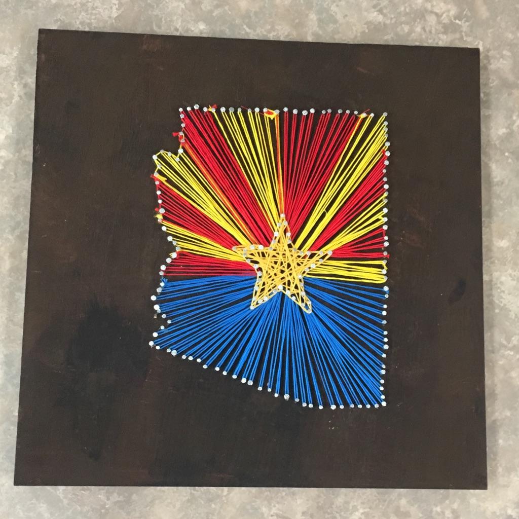 Arizona String Art