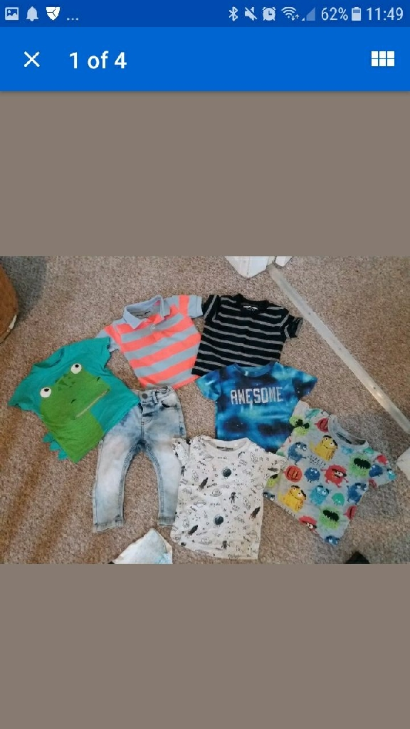 Boys 6-9months mainly next.sum h&m and puma