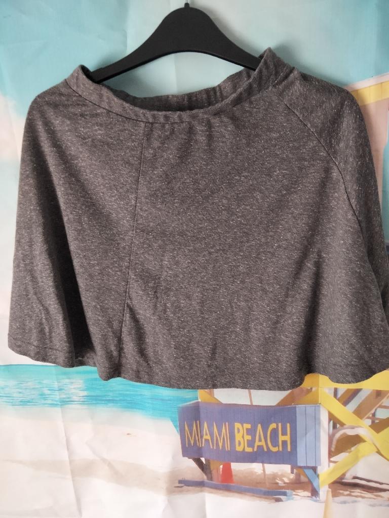 Women's grey colour short skirt UK size 6