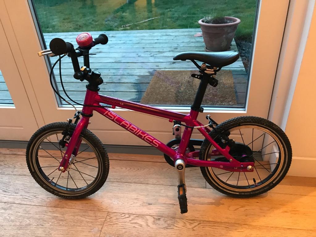 Isla bike 14 inch wheels, large frame, cnoc