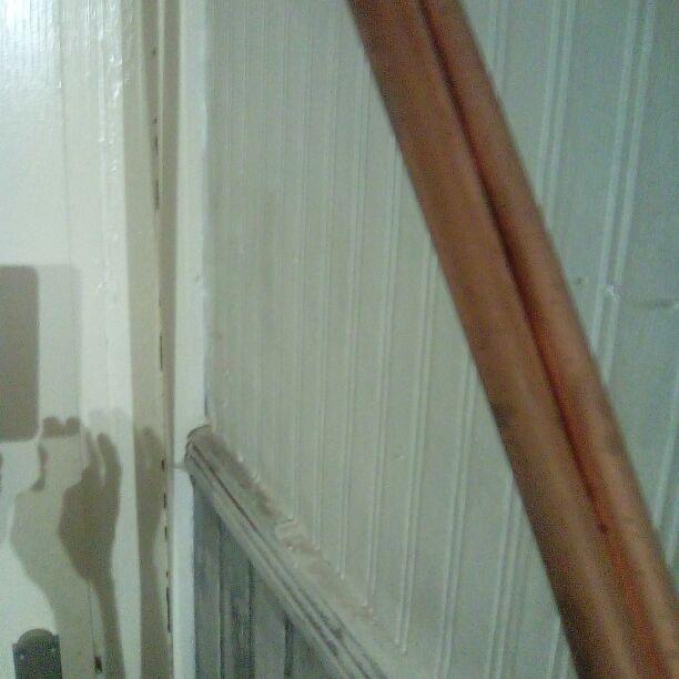 """Copper pipe 3/8"""". 3M x 3"""
