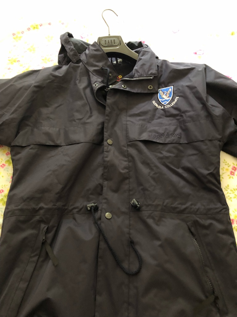 Glenlola Collegiate School Coat age 13-14