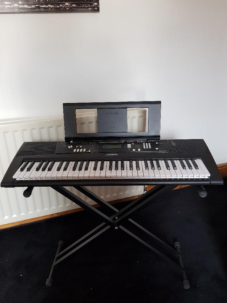 Yamaha electric keyboards