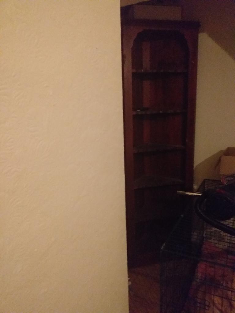 3 shelves / torch / clothes rail