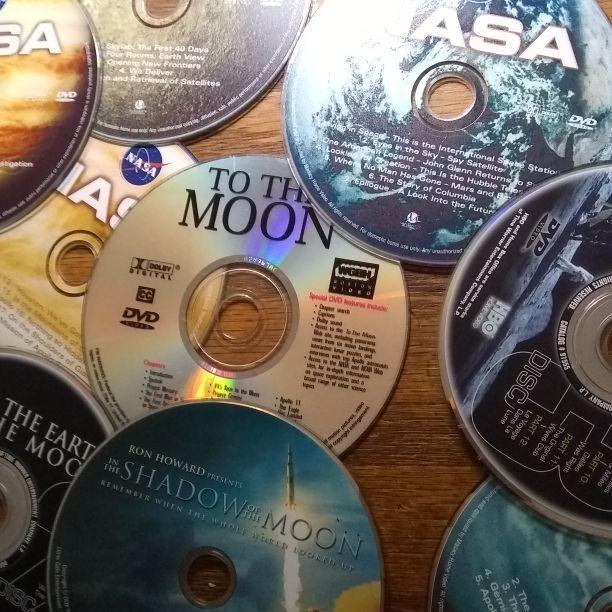 Nasa dvds