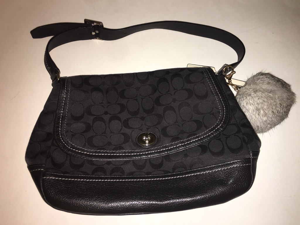 Coach Park Signature Flap bag