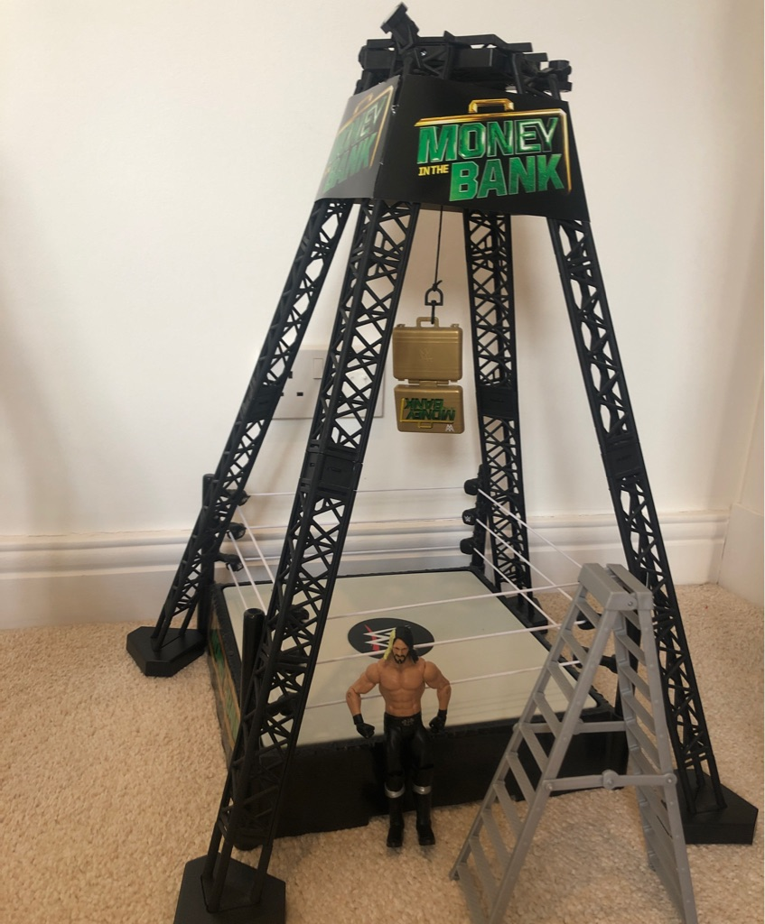 WWE ring and figure
