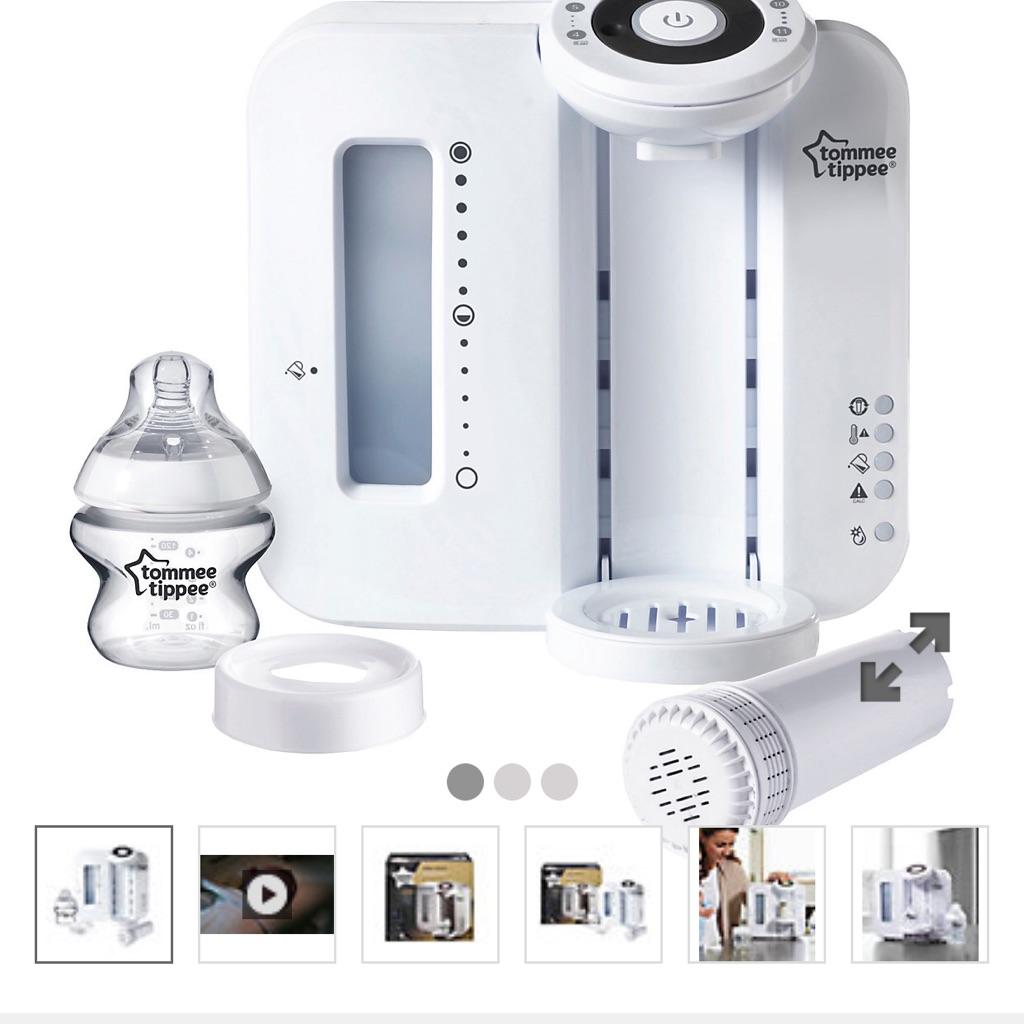 White perfect prep machine