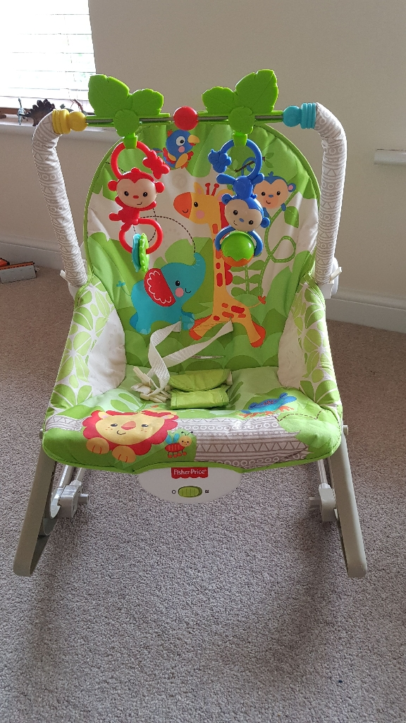 Fisher Price Vibrating Infant to Toddler Rocker