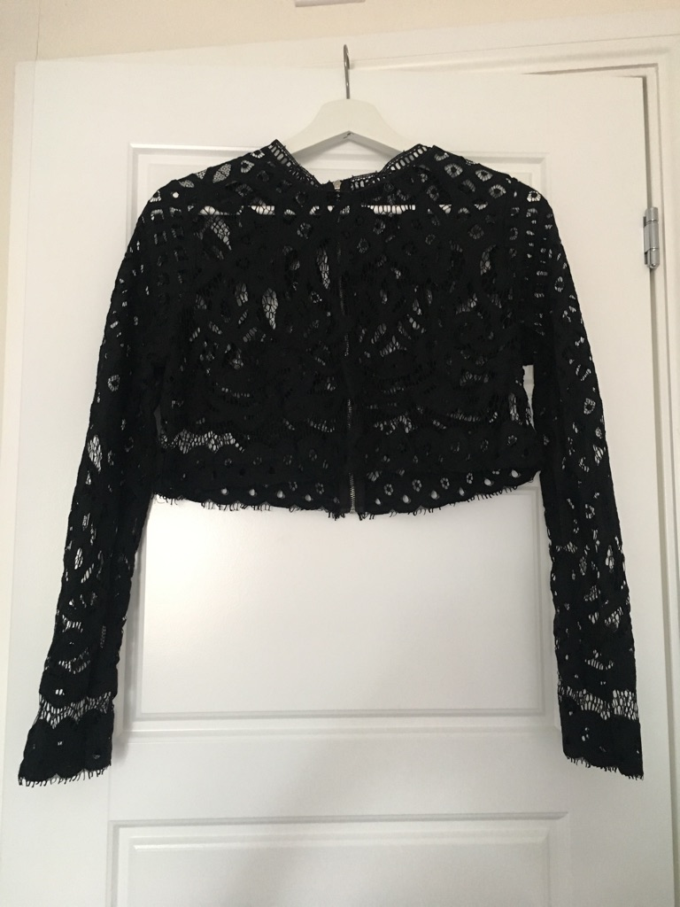 Miss Guided Lace Top. Size 12.