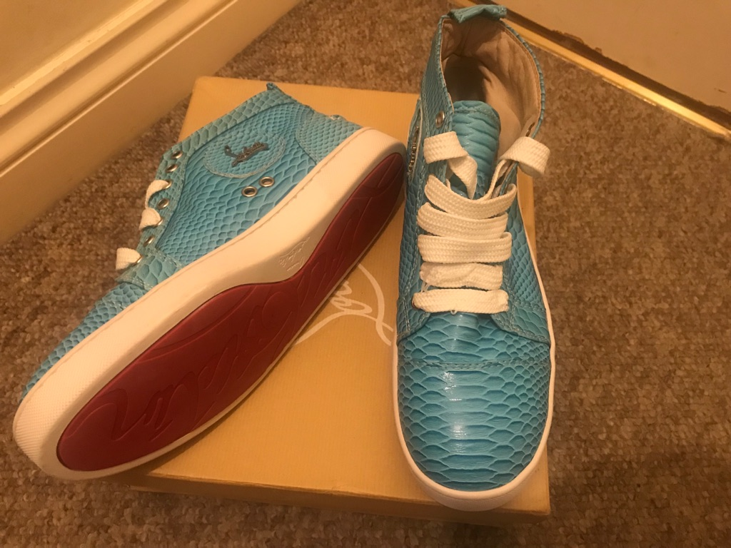 Genuine Men's Christian Louboutin Shoes UK Size 7